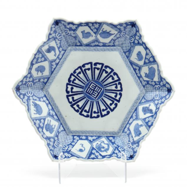 a-japanese-blue-and-white-charger-with-zodiac-animals