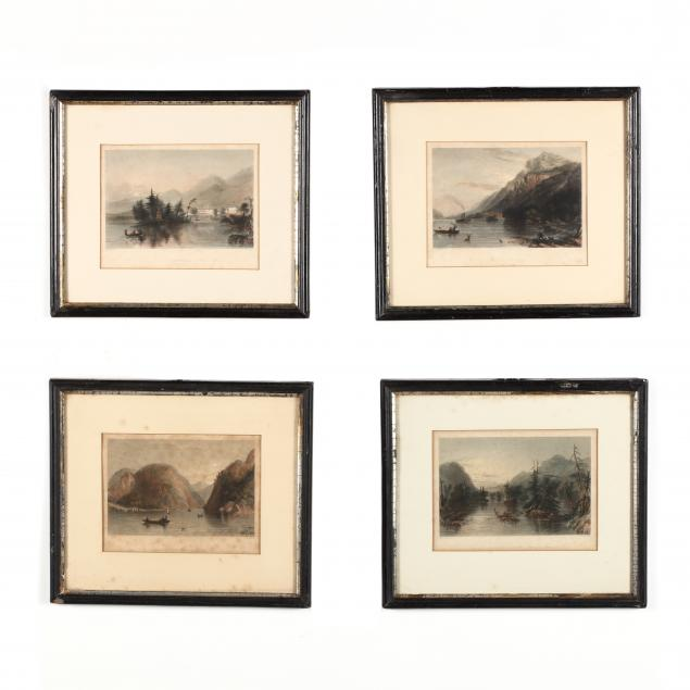 four-antique-engravings-of-lake-george-new-york