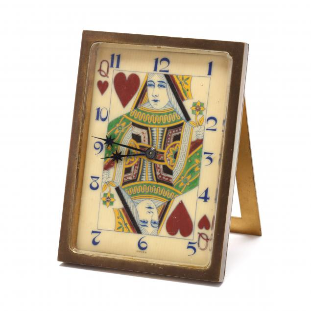 vintage-queen-of-hearts-travel-clock