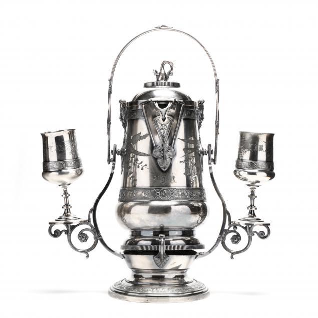 antique-reed-barton-tilting-pitcher-set