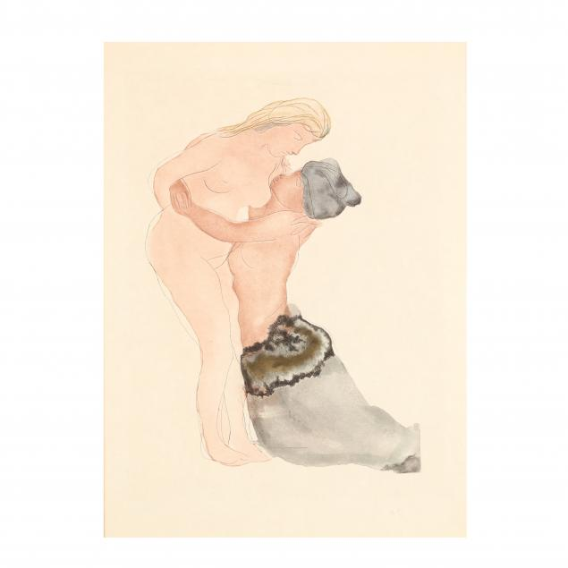 after-auguste-rodin-french-1840-1917-deux-nus-from-i-dix-dessins-choisis-i