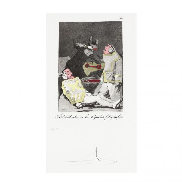 salvador-dali-spanish-1904-1989-antecedentes-from-i-les-caprices-de-goya-de-dali-i