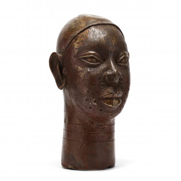 benin-hollow-cast-bronze-head