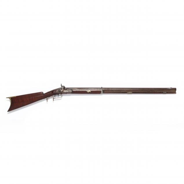 half-stock-percussion-rifle-signed-i-j-m-zink-i