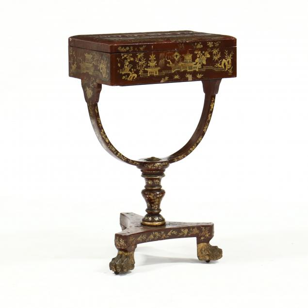 antique-english-chinoiserie-sewing-stand