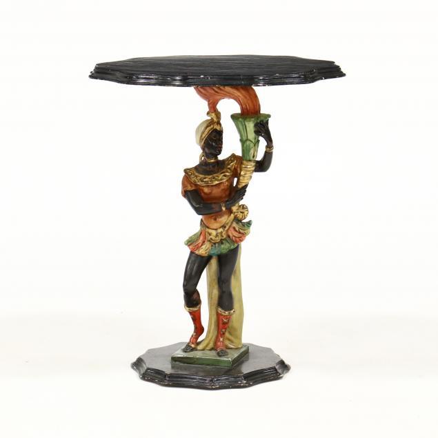vintage-italian-carved-and-painted-blackamoor-side-table