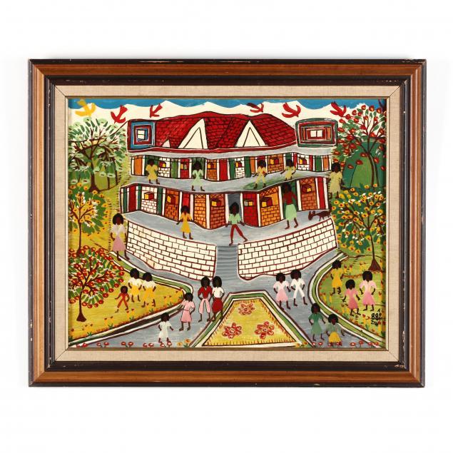 jamaica-folk-art-painting-allan-zion-kingston-1930-2003
