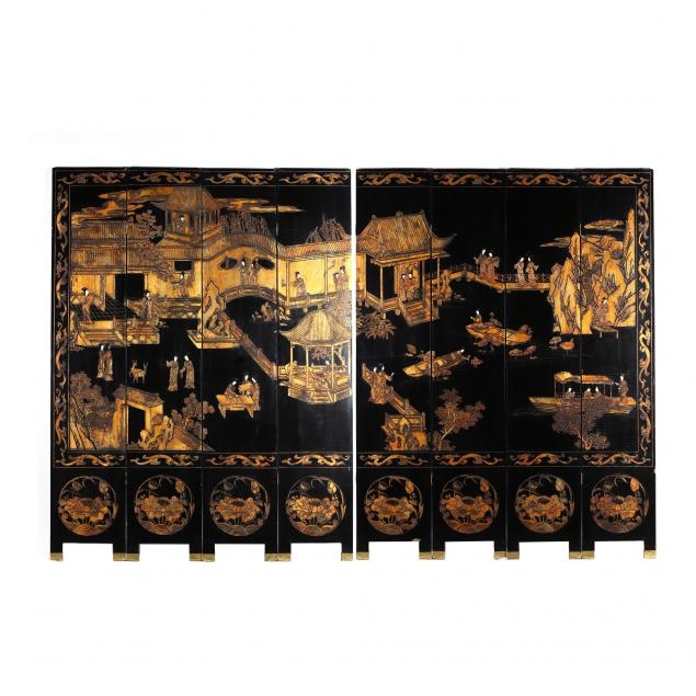 chinese-carved-and-lacquered-eight-panel-floor-screen