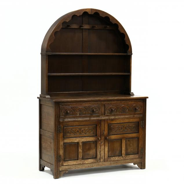 william-and-mary-style-oak-stepback-cupboard