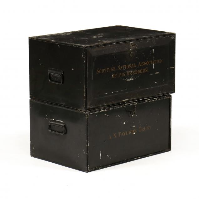 two-antique-tole-banker-s-boxes
