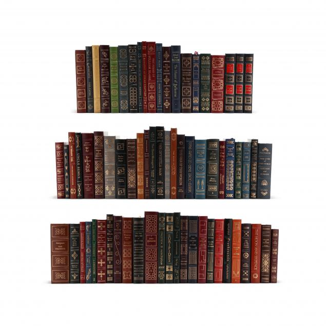 66-easton-press-books-and-four-signed-first-edition-franklin-library-books