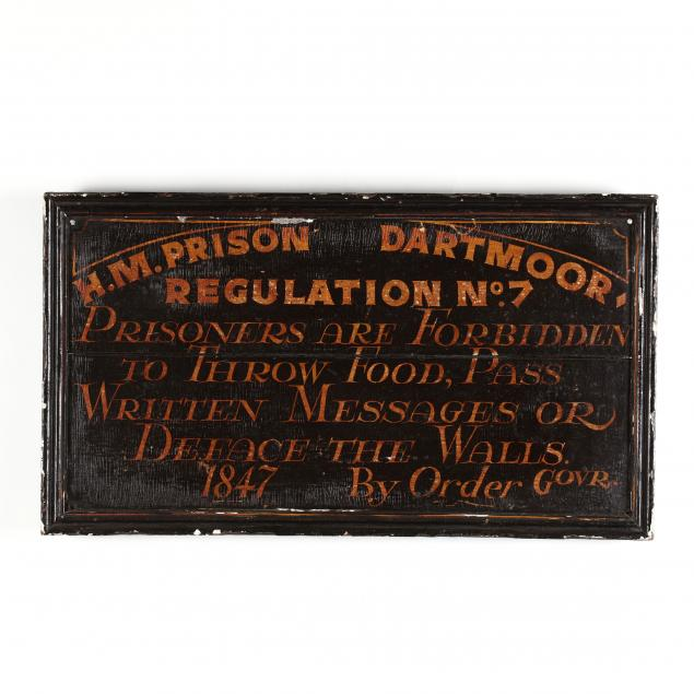 english-prison-regulation-sign