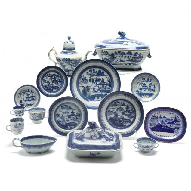 55-pieces-of-chinese-export-canton-porcelain