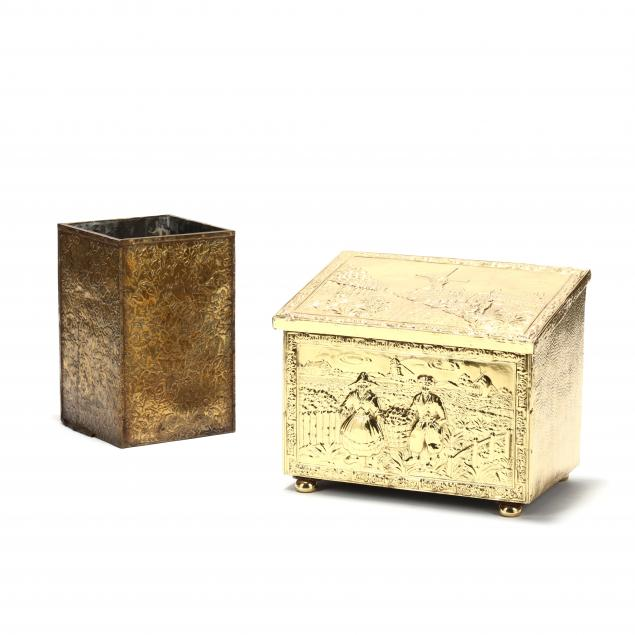 two-vintage-dutch-brass-repousse-fireplace-boxes