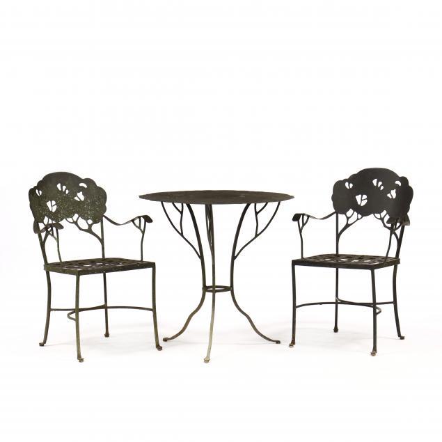three-piece-iron-tree-motif-patio-set