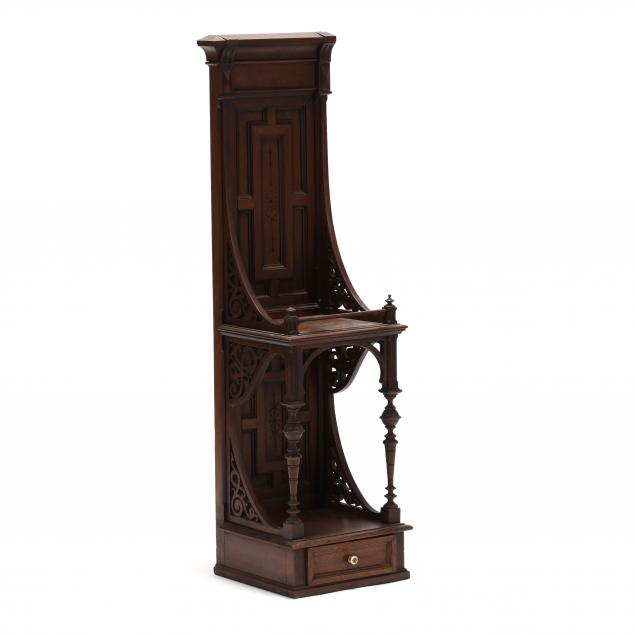 victorian-carved-walnut-display-stand
