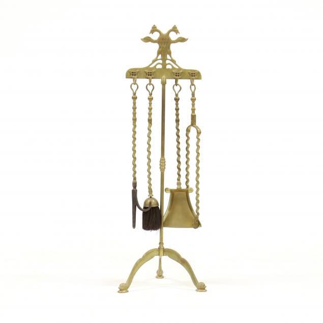 continental-brass-fireplace-tool-set