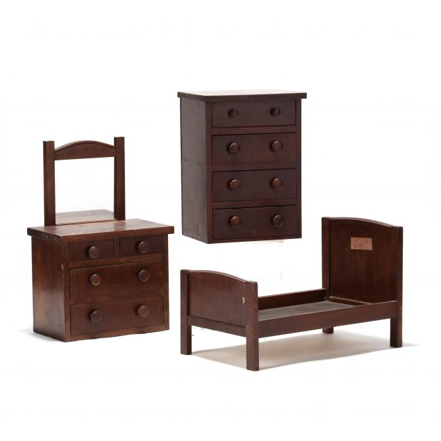 three-pieces-of-vintage-child-s-furniture