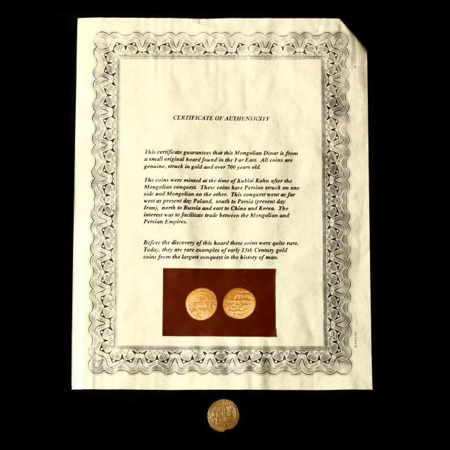 mongolian-empire-gold-dinar