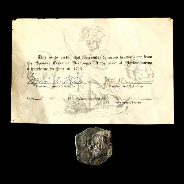 silver-cob-8-reales-recovered-from-the-1715-plate-fleet