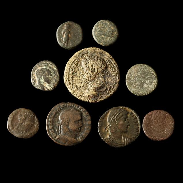 lot-of-nine-ancient-greek-and-roman-bronze-coins