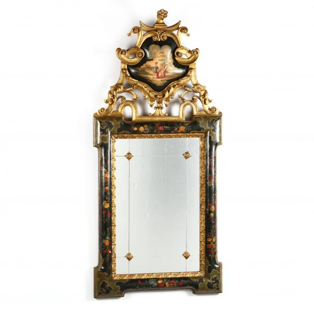 italian-rococo-style-carved-and-painted-looking-glass