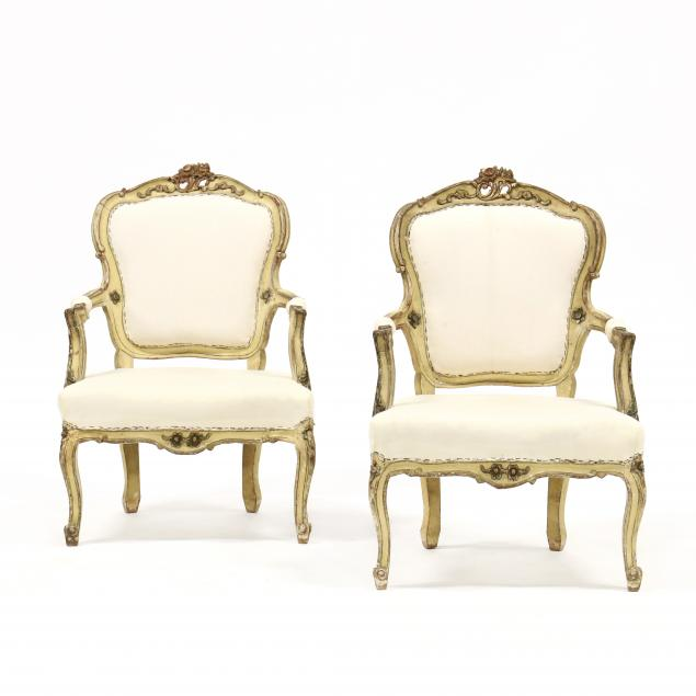 pair-of-louis-xv-style-carved-and-painted-fauteuil