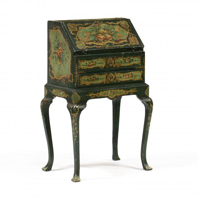 an-antique-italian-painted-ladies-writing-desk