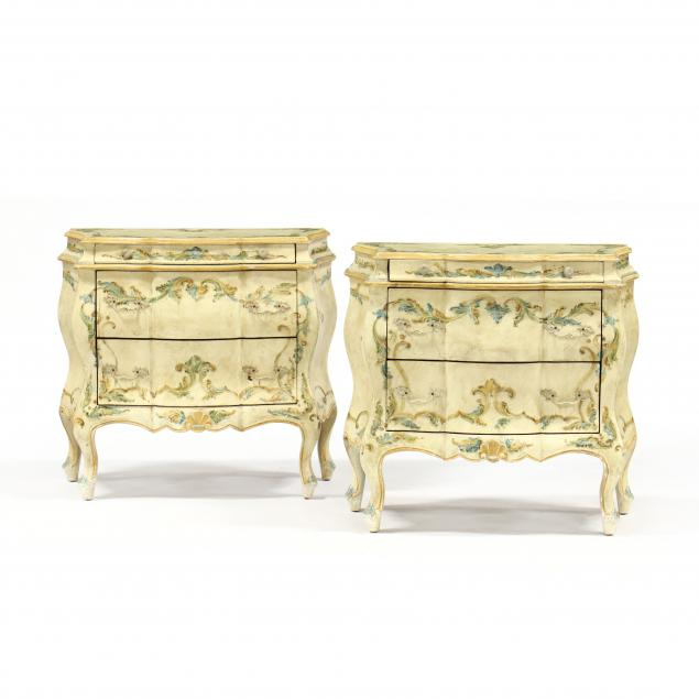 pair-of-diminutive-italian-bombe-painted-chests