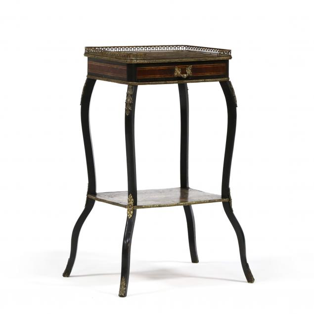 antique-french-inlaid-one-drawer-table