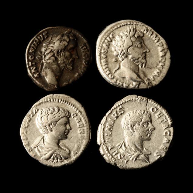 four-roman-imperial-silver-denarii