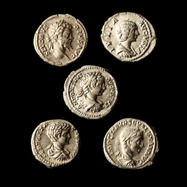 five-roman-imperial-silver-denarii-from-the-pristina-hoard