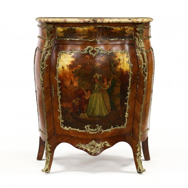 louis-xv-style-bombe-marble-top-cabinet