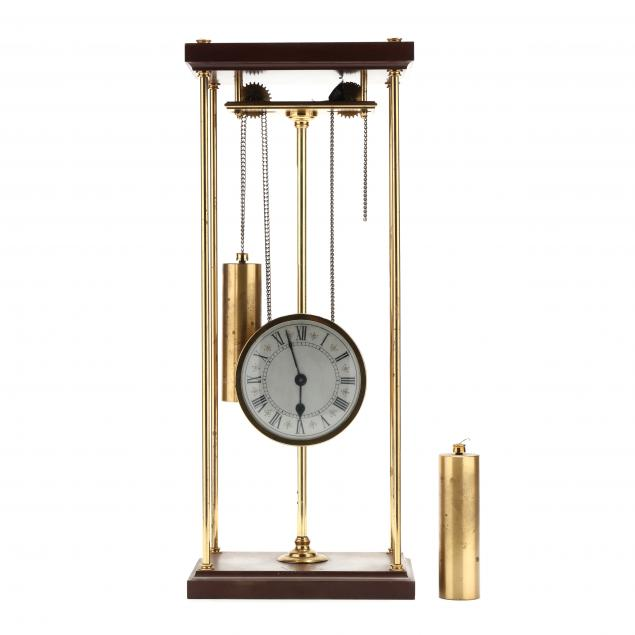 franklin-mint-rising-works-clock