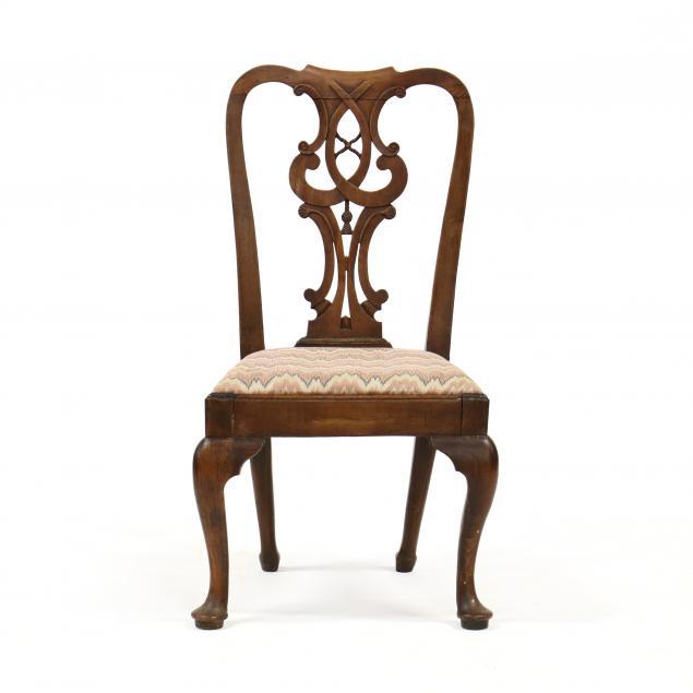 english-queen-anne-oak-side-chair