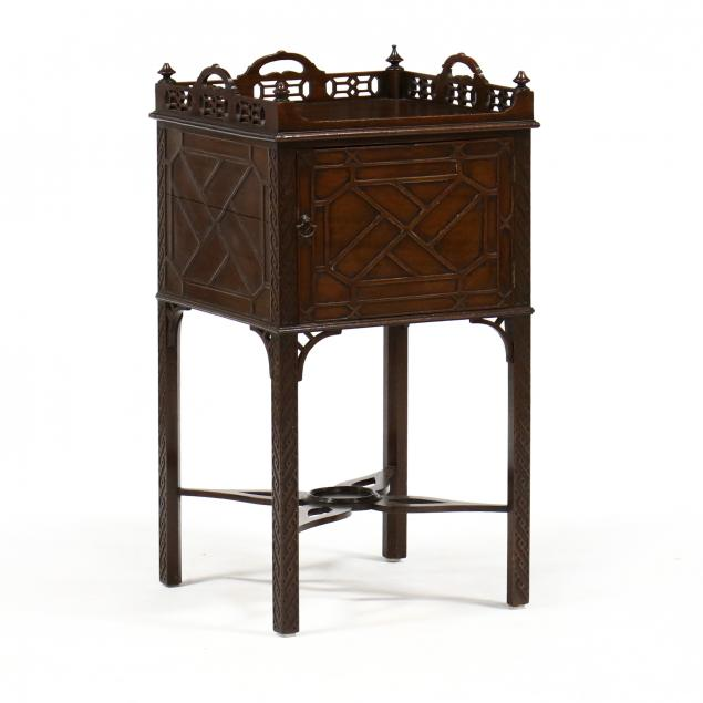 antique-english-chinese-chippendale-mahogany-cabinet
