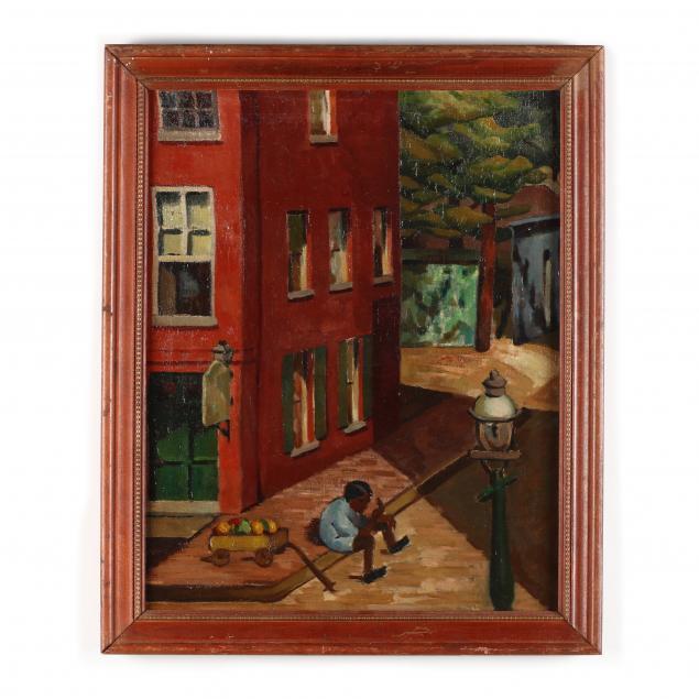 florence-harris-von-schlegell-nc-1894-1978-the-fruit-seller