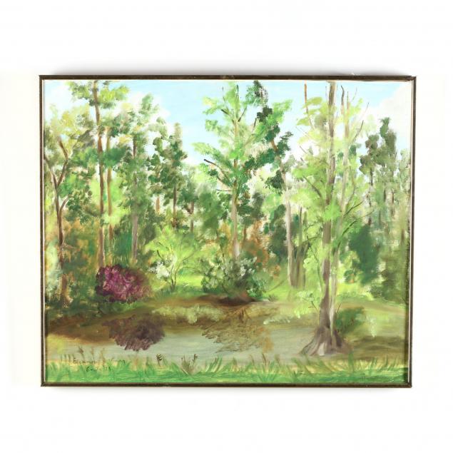 eleanor-j-carr-nc-20th-century-spring-landscape
