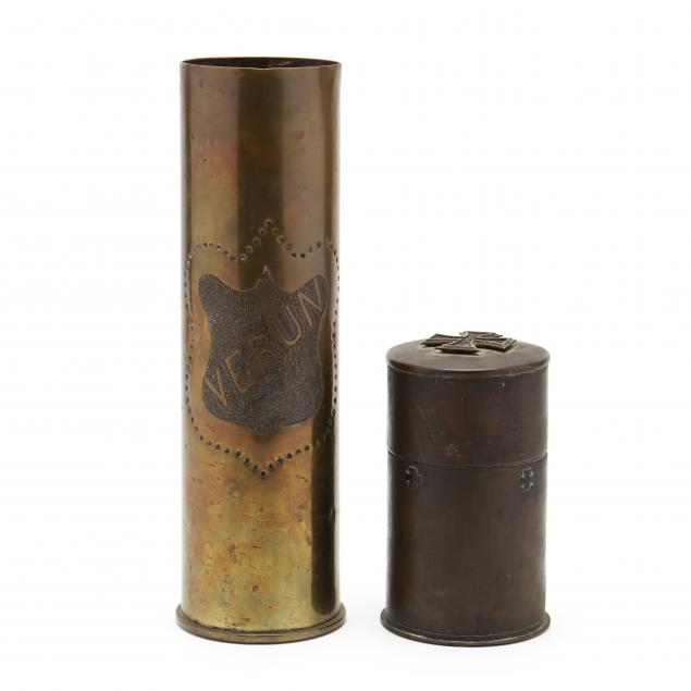two-vintage-pieces-of-artillery-trench-art