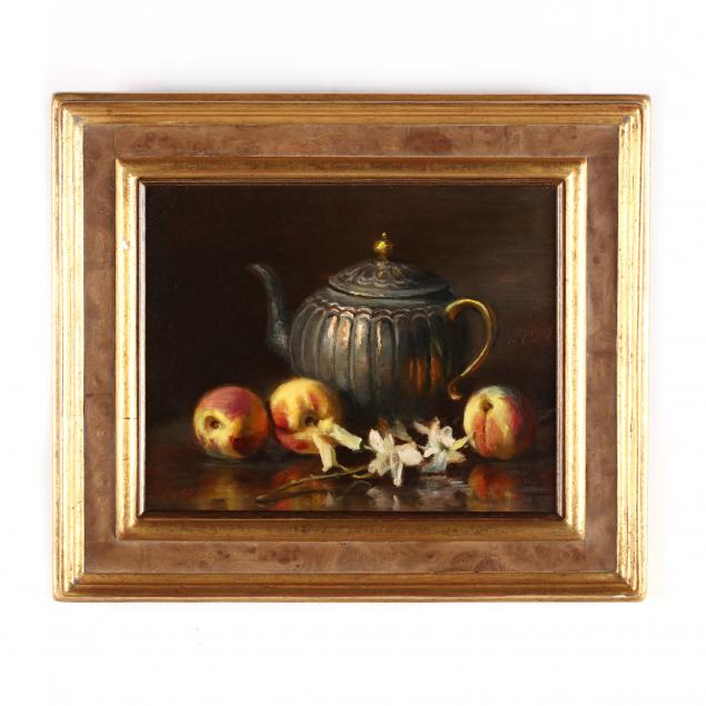joan-potter-nm-ny-b-1935-still-life-with-teapot-peaches