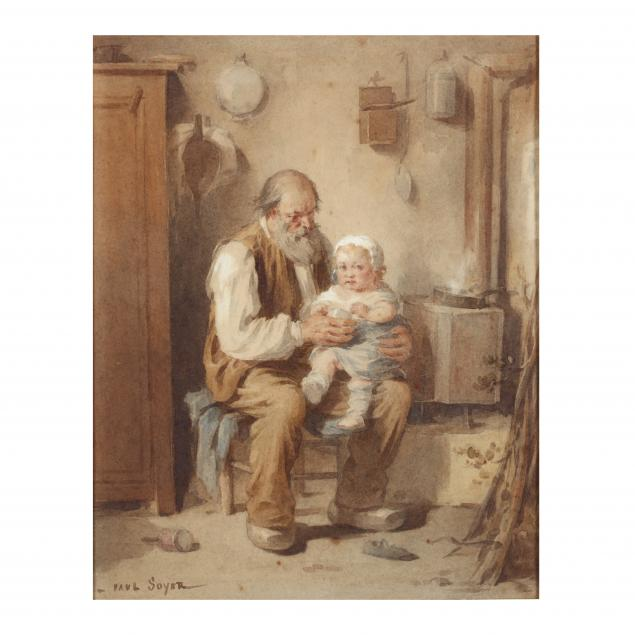 paul-soyer-french-1823-1903-grandfather-and-grandson