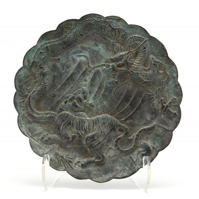 a-japanese-bronze-tiger-and-dragon-plaque
