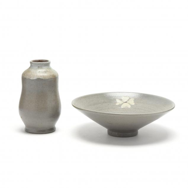 two-rare-ben-owen-master-potter-salt-glaze-pieces