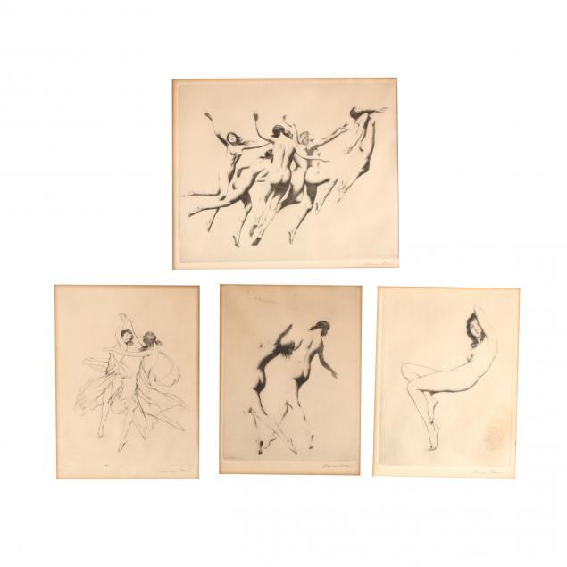 warren-b-davis-american-1865-1928-four-figural-works