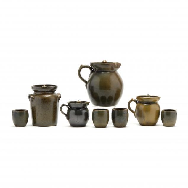 a-selection-of-ben-owen-master-potter-frogskin-glazed-pottery