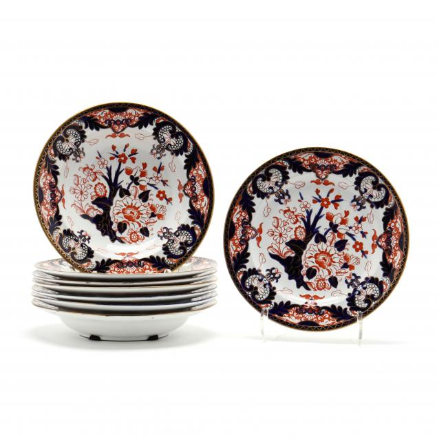 eight-pieces-of-royal-crown-derby-imari