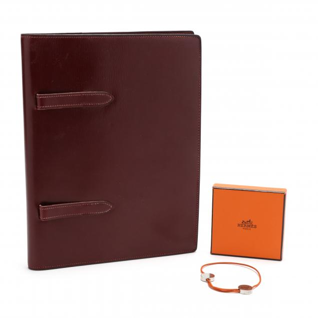 leather-journal-and-bracelet-hermes