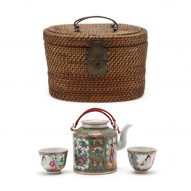 a-chinese-export-mandarin-rose-teapot-and-tea-cup-basket-set