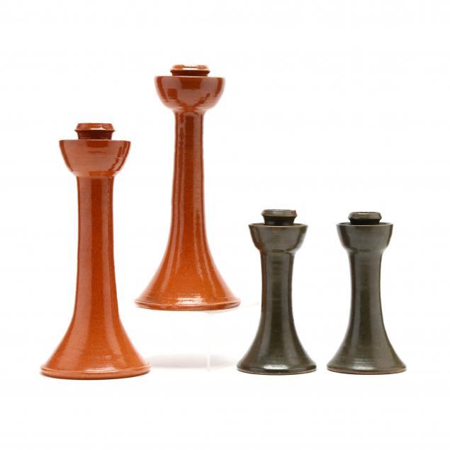 nc-pottery-ben-owen-master-potter-candlesticks