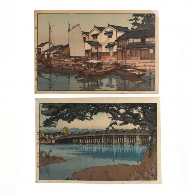 hiroshi-yoshida-japanese-1876-1950-two-woodblock-prints